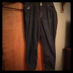 T3 high rise skinny jeans